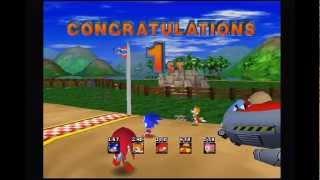 Sonic Gems Collection Walkthrough part 1 - Games
