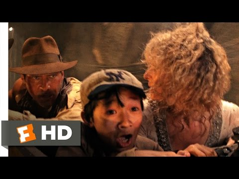 Indiana Jones and the Temple of Doom 710 Movie   Mine Cart Chase 1984 HD