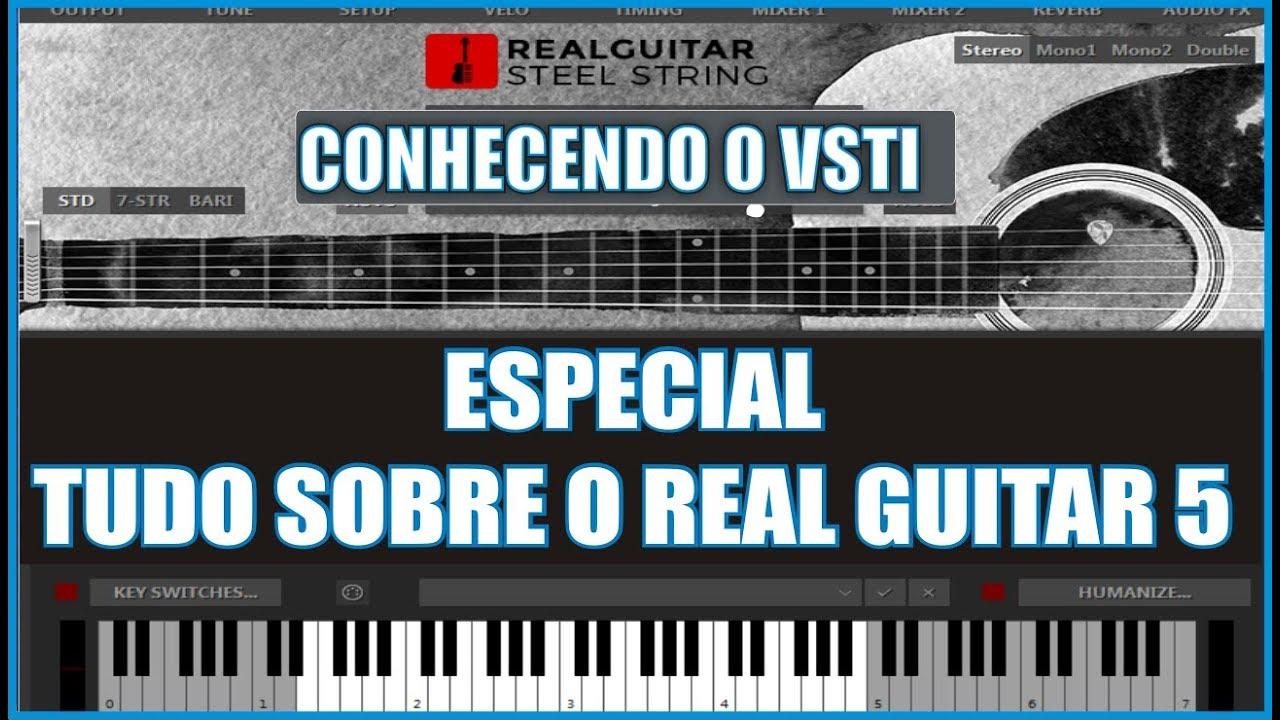ESPECIAL REAL GUITAR 5 EFEITOS, BATIDAS, LEVADAS