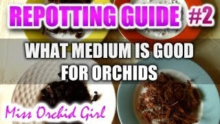 Complete guide to repotting Orchids Part 2 - What soil or medium is good for Orchids