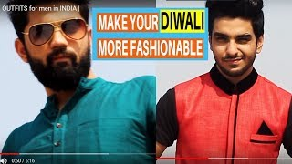 4 Best DIWALI OUTFITS for Men | what to wear on Diwali