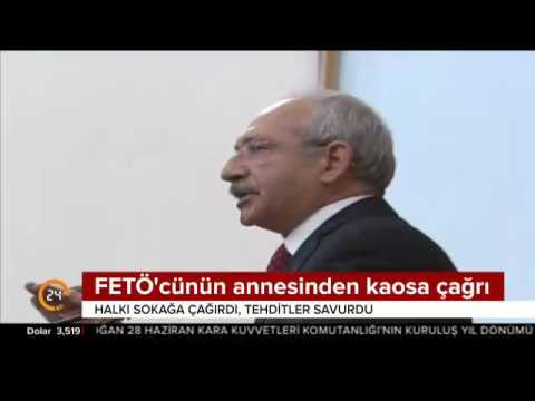 Kılıçdaroğlu'nun sözde 'adalet yürüyüşü'ne FETÖ desteği