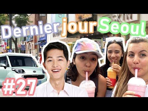 VLOG 27: LAST DAY IN SEOUL , HELLO KITTY COFFEE & WTF - SEOUL | HD VFT