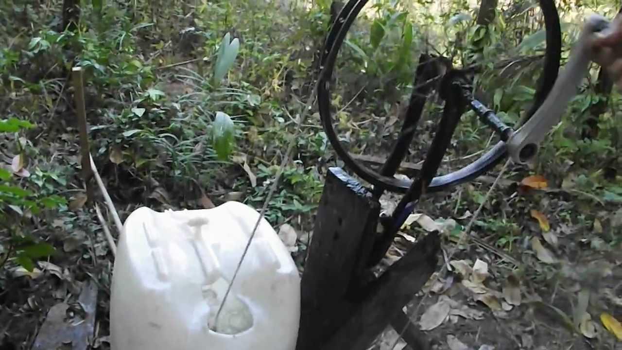 Bomba De Gua Manual Com Corda Para Puxar Gua De Po O