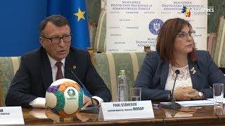 Paul Stănescu: Realizarea stadioanelor pentru CE de fotbal 2020, monitorizată de premier