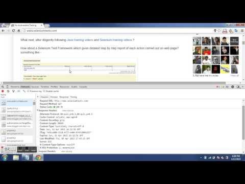 9th JMeter Training Video - HTTP Cache Headers