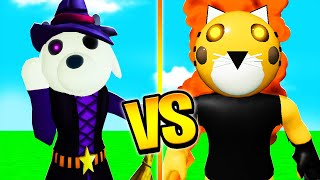 ROBLOX PIGGY ENCHANTED FORMULA VS HALLOWEEN TIGRY! (Roblox Piggy RP)