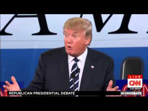 Donald Trump and Dr. Ben Carson Discuss Vaccinations and Autism at CNN GOP Debate