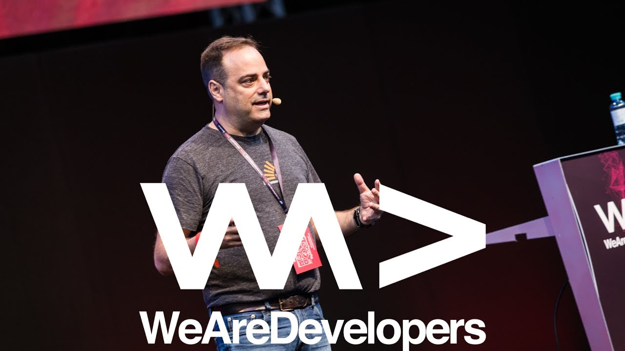 Joel Spolsky @ WeAreDevelopers Conference 2017