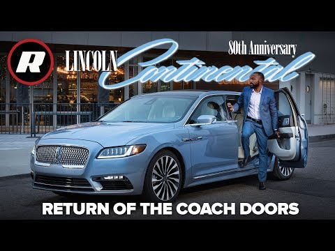 First look at the 2019 Lincoln Continental Coach Door Edition Mp3