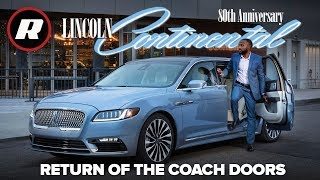 First look at the 2019 Lincoln Continental Coach Door Edition