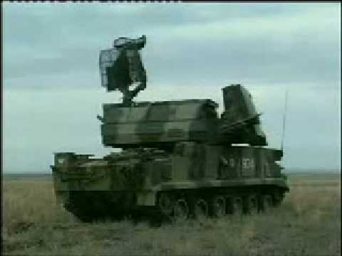 Tor-M1 Russian medium-range anti-air missile system