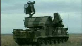 Tor-M1 Russian medium-range anti-air missile system