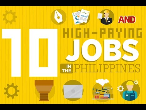 Top 10 High-paying Jobs In The Philippines