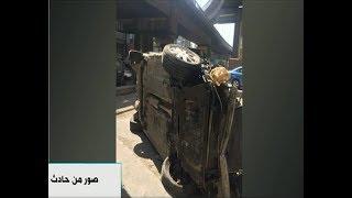 فيديو.. المرور: سقوط سيارة من أعلى كوبري أكتوبر وإصابة قائدها