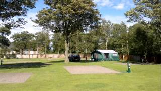 Stanwix Holiday Park Cumbria touring pitches.