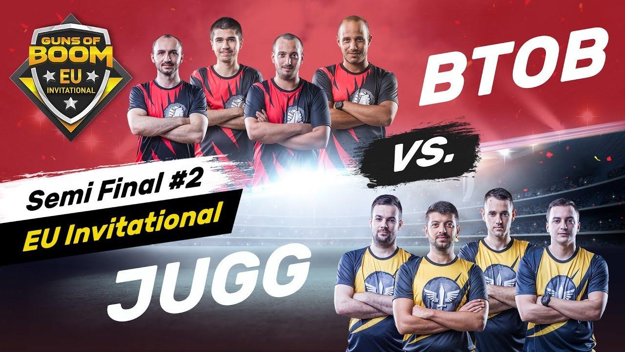 JUGG KNIGHTS OF HONOR vs  BACK TO BACK - Decider Match - EU Invitational