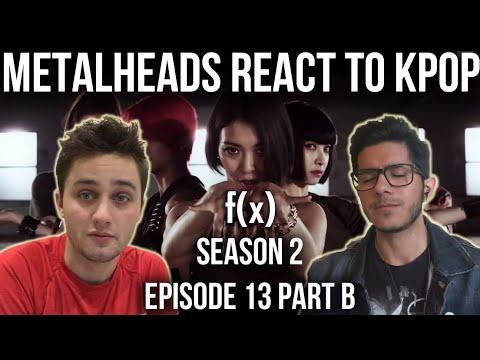 #roadto10k SEASON 2 | Metalheads React to Kpop | Episode 13 PART B (f(x))