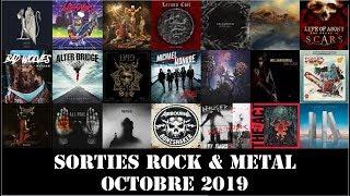 Sorties Albums Rock & Metal : Octobre 2019