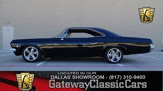 1965 Chevrolet Impala SS #532-DFW Gateway Classic Cars of Dallas