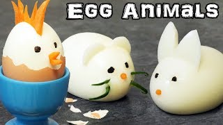 How to Make Awesome Animal Eggs - Easter Surprise!