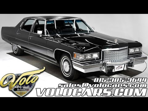 1976 Cadillac Brougham For Sale At Volo Auto Museum (V18786)