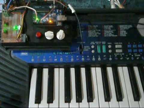 Instala pitch bend y modulacion a teclado