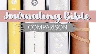 Bible Journaling for Beginners: Choosing a Journaling Bible