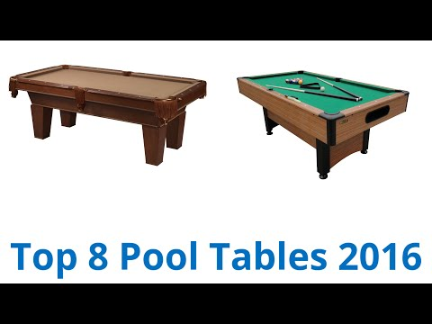 8 Best Pool Tables 2016