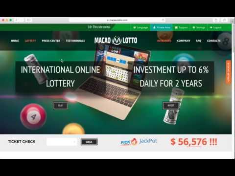 Macao-Lotto: обзор и отзывы от Profvest.com (+6% бонус)