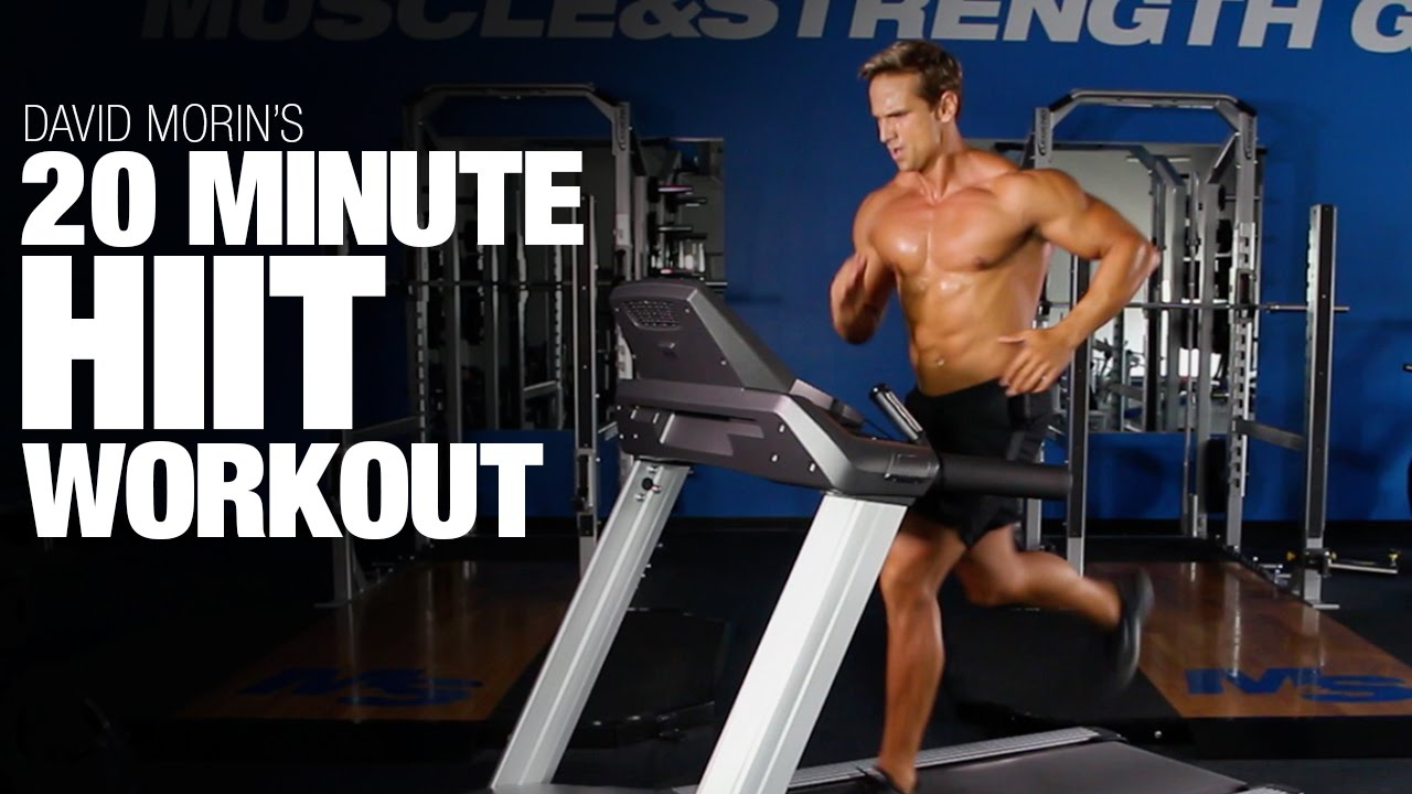 20 Minute HIIT Cardio Workout: Burn Fat & Maintain Muscle ...