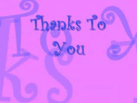 Thanks to You - Tyler Collins lyrics
