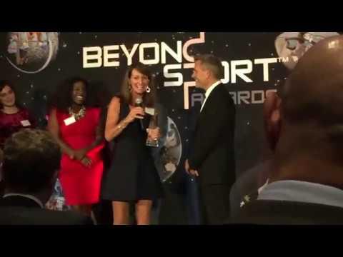 2018 Beyond Sport Global Award Acceptance