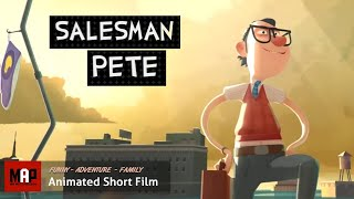 "CGI 3D Animated Short Film ""SALESMAN PETE"" Funny Animation by GOBELINS"
