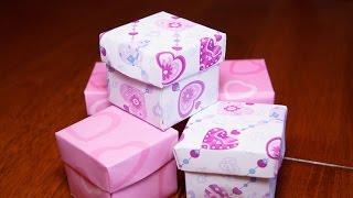 Как сделать коробочку из бумаги своими руками ОРИГАМИ Origami Box(В преддверии праздников (День Святого Валентина, 8 марта, мамин день), актуальным становится вопрос красивой..., 2015-01-08T18:57:47.000Z)