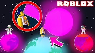 the new gum biggest the world in ROBLOX! 😂