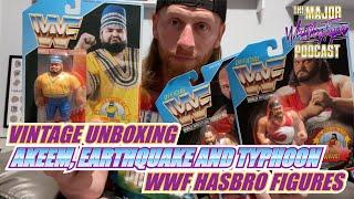 Vintage Unboxing - Akeem, Earthquake and Typhoon (WWF Hasbro Figures)