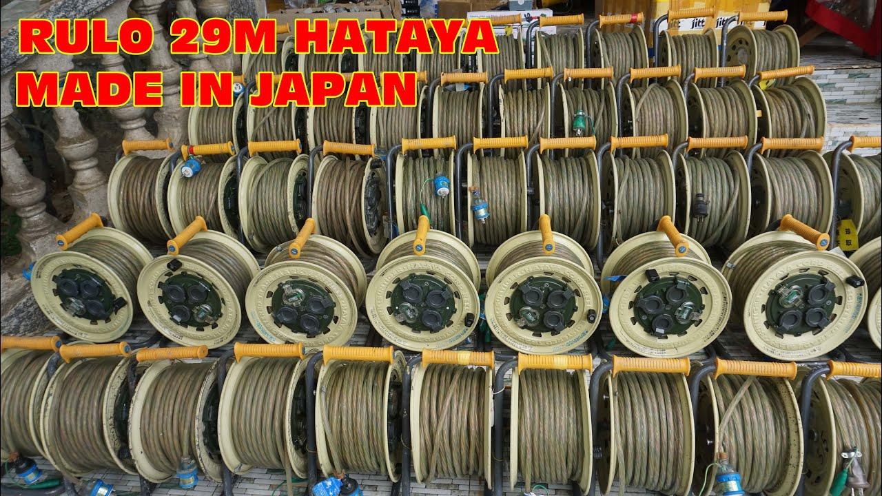 Phần 2: Thanh lý lô 30 cuộn dây điện 29M HATAYA hàng bãi nhật (nhiều hàng đẹp)