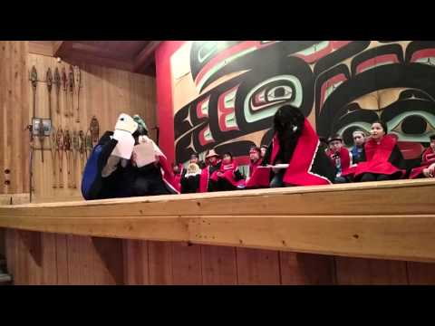 Tlingit story : The old woman of the Tides