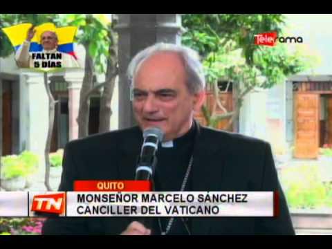 Visita del Papa marcha sobre el cronograma establecido
