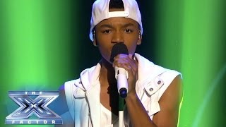 "Josh Levi Can ""straight Up"" Sing! - The X Factor Usa 2013"