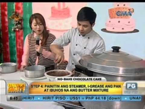 Unang Hirit: Kitchen Hirit: No-bake Chocolate Cake