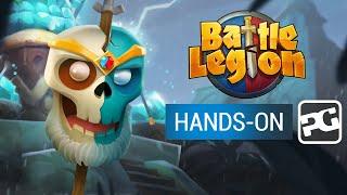 BATTLE LEGION (iOS, Android)   Gameplay
