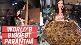 I Couldn't Believe My Eyes || World's Biggest Parantha in Jaipur || Ep 1