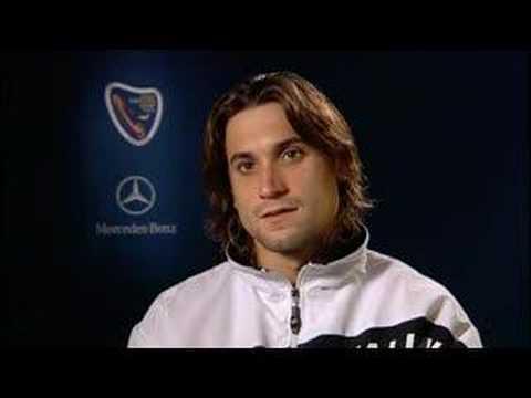 Tennis Masters Cup Shanghai  - Ferrer interview (18-11-07)
