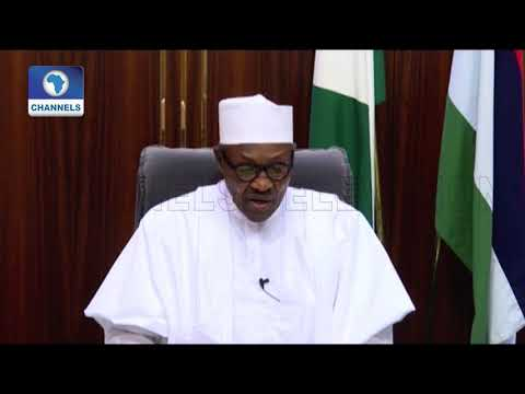 'I Don't Take Your Support For Granted', Buhari Begs Nigerians To Re-Elect Him