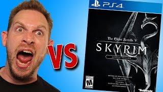 The Elder Scrolls V Skyrim Special Edition PS4 Game Unboxing