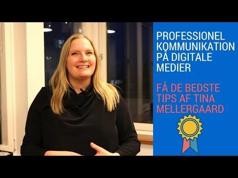 Bliv bedre til digitale medier med Tina Mellergaard
