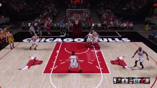 NBA 2K16 invisible player