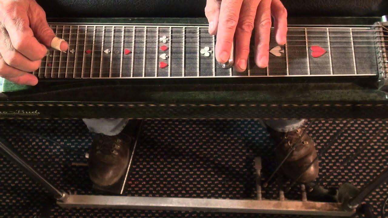 Blue Bayou Steel Guitar Lead Youtube